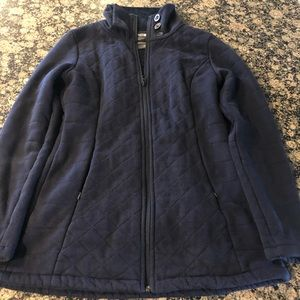 The North Face Fleece Zip Pea Coat - Sz M